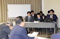 敦賀で就労、子育てを 庁内PT 市長に移住促進案
