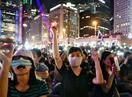 香港、大規模デモ中止発表