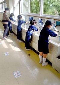 長期戦走りながら対応 新しい様式浸透急ぐ コロナ禍の先に_県内1日学校再開(5)