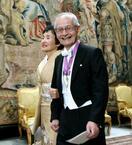 吉野さん、王宮晩さん会に出席