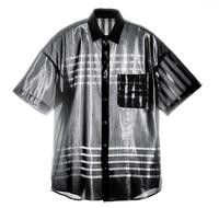 光沢、透け感ある衣料 販売 「コムサ」 三澤機業場(あわら)とコラボ