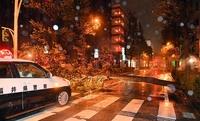 台風21号猛威、福井県内大荒れ
