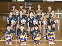 バレーボール 大会1勝へ声響かせ 円山―Girls(福井) ハツラツキッズ