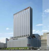 大型ビル「ヨドバシ梅田タワー(仮称)」のイメージ