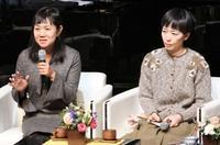 作家の角田光代さんソウルで講演