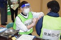 ワクチン接種、若狭町で合同訓練