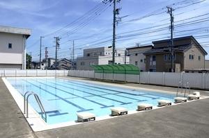 夏休み小学校プール開放7日間のみ