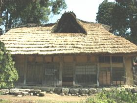江戸後期1839年に上層農家が建てた大規模民家