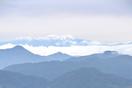 白山が雪化粧、福井市からも確認