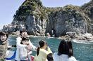 断崖や奇岩、船からの絶景に感動