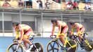 自転車福井男子も2位以上決める