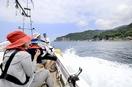 越前海岸の漁船クルーズが本格化