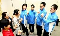 最高の舞台で恩返し バレー、サッカー寺野4きょうだい(福井) 頑張る姿 母らに披露