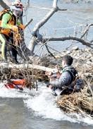 サクラマス釣りの男性流され死亡
