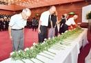 戦争の記憶 後世へ 福井で戦没者追悼式