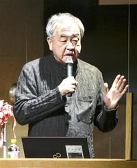 福井で学び今こそ好機 建築家・隈研吾氏 県立大入学式でエール