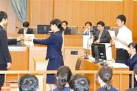 模擬裁判 大野高制す 福井地裁で県大会 4校が白熱論戦