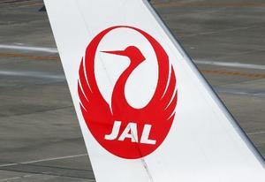 日本航空機の尾翼