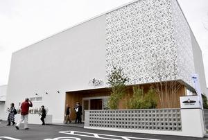 アスピカの多目的施設「華づな」=福井県福井市西谷1丁目