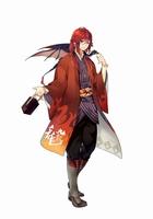 黒龍酒造の日本酒「九頭龍」を擬人化したキャラクター「九頭龍」(C)BANDAI NAMCO Entertainment Inc.