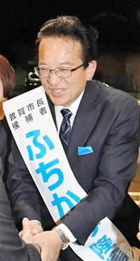 【敦賀市長選】大票田 地盤粟野が鍵 激しい競り合い続く