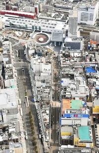 福井市商業地の地価26年ぶり上昇