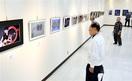 風景やめがね写真県作家連盟が展示 鯖江