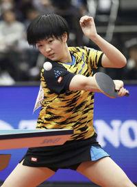 卓球女子にまた逸材 14歳木原、全日本で準V スポーツランド