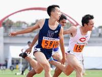 男子100メートルは宮本V