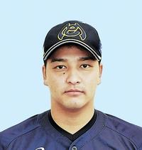 前期MVP投手、福井の浜田俊之