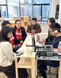 越前市役所から生放送 週1回サテライトスタジオ設置 外国人招き多文化番組も