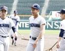 県外に進学の 3選手も闘志 横浜・小泉ら