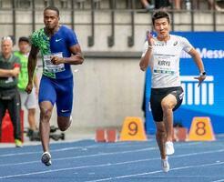 男子 100 メートル 決勝