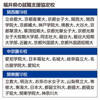 福井県がハイペースで県外大学と協定を結ぶ理由 学生7割が県内戻らず…Uターン就職へ情報提供