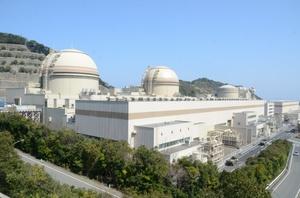 関西電力大飯原発=2014年3月、福井県おおい町大島
