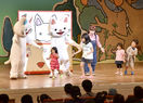 鯖江で「ノンタン」ステージショー