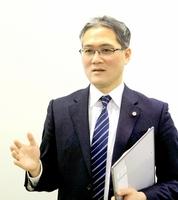 福井県警緊急対策PT責任者の西野正秀警視