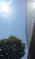 熱中症警戒アラートが発表された福井県内=8月2日、福井県福井市大和田2丁目