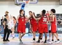 バスケ日本、ベルギー破り初白星