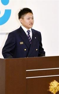永平寺町消防職員意見発表 最優秀賞に小山田さん