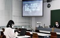 オンラインで留学気分 県立大生 豪学生と交流