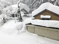 九頭竜で積雪3mの大台、県内初