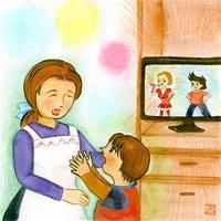 【おはなしトントン】「お母さんはアンドロイド?」 さく・三田村丈子 え・油谷奈々恵