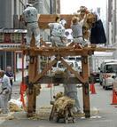 祇園祭「山鉾建て」中止