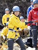 山岳救助隊に県警初の女性隊員