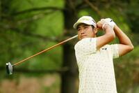 米男子ゴルフ、松山は22位