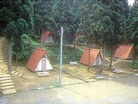 奥越高原県立自然公園内にあるキャンプ場