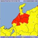 大気不安定 北陸地方、大雨に警戒