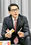 「シェア4割目指す」 新銘柄PR JT前田常務…