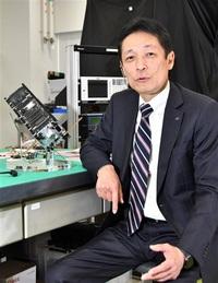 福井の産業、宇宙時代へ これが「すいせん」だ!! 製造・開発グループ統括 山田英幸さん 「超小型」で実績積む 県民衛星「すいせん」